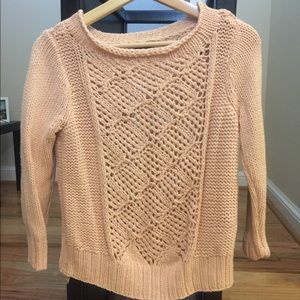 Knitted light pink sweater - Armani Exchange